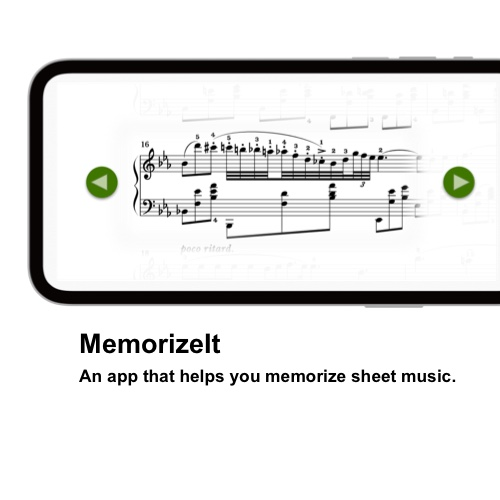 MemorizeIt. An app that helps you memorize sheet music.