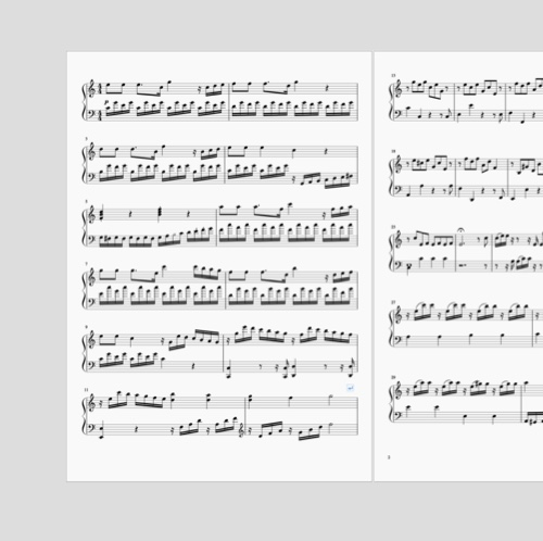 Prelude in C Major for Piano. A composition about innocence, privacy and grand realisations.